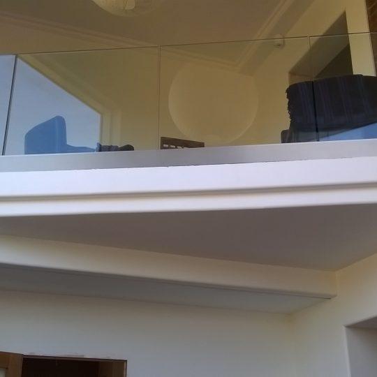 Celia frameless balustrade vantage