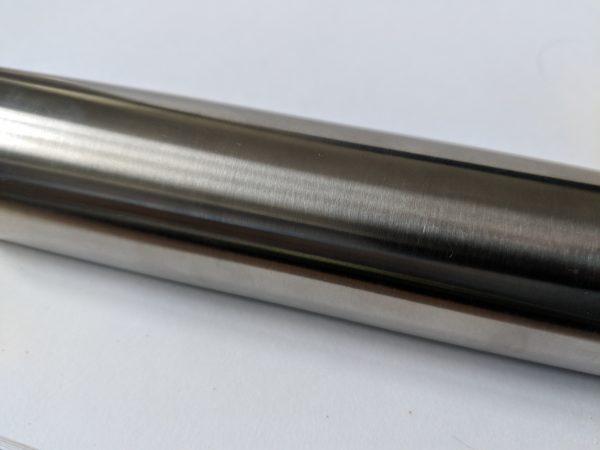 slotted stainless steel handrail for frameless glass balustrade