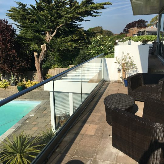 Ivan frameless glass balustrade