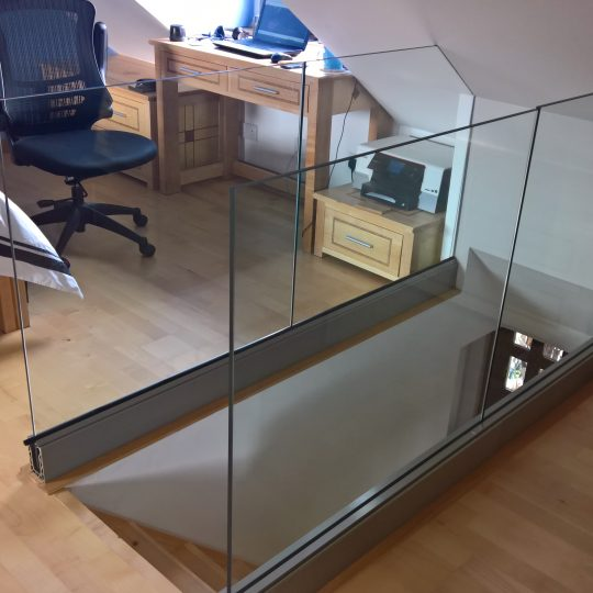 Ruaridh frameless glass balustrade vantage