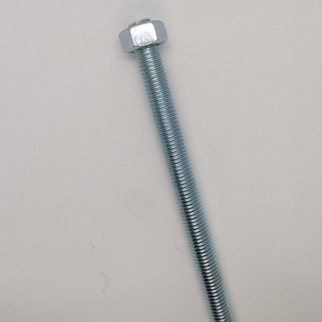 threaded m12 bar for use on fixing glass balustrade