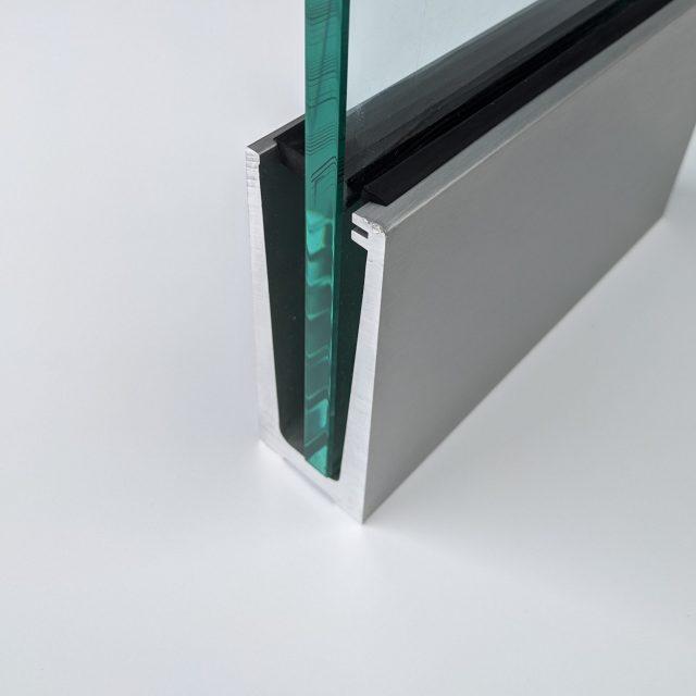 solus slim frameless glass balustrade